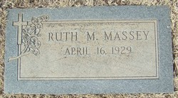 Ruth Marie <I>Wall</I> Massey