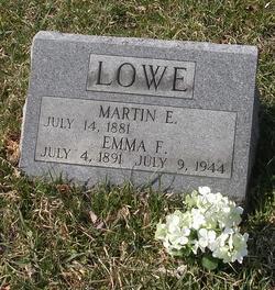 Emma Florence <I>Dillow</I> Lowe
