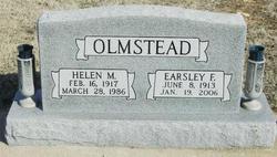 Helen Marie <I>Medlam</I> Olmstead