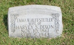 Emma Wilson <I>Huffstetler</I> Dixon