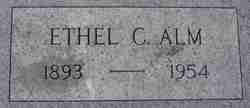 Ethel C <I>Foss</I> Alm