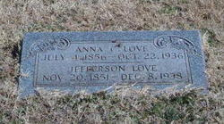 Anna Catherine <I>Stidham</I> Love