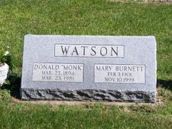 """Donald """"Monk"""" Watson"""
