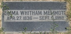 Emma <I>Whitham</I> Memmott