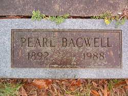 Pearl E <I>Echols</I> Bagwell