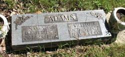 Nancy Lorinda <I>DeMoss</I> Adams
