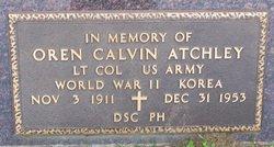 Oren Calvin Atchley