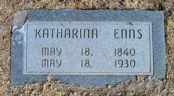 "Katharina ""Katie"" <I>Penner</I> Enns"