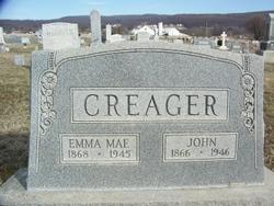 Emma Mae <I>Fox</I> Creager