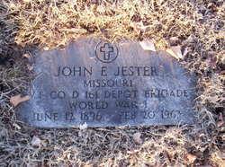 John Edwin Jester