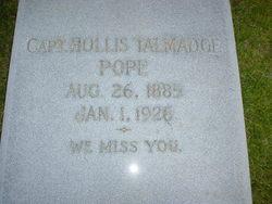 Hollis Talmadge Pope