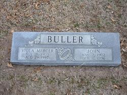 Viola Gladys <I>Mercer</I> Buller