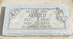 Nettie May <I>Moody</I> Arnold