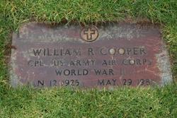 William R Cooper