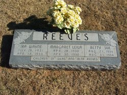 Betty Sue Reeves