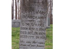 Sarah Jane <I>Beauchamp</I> Sparks