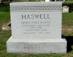 Susan King <I>Ellis</I> Haswell