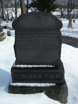 Jane <I>Mearns</I> Crimason