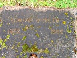 """Edward W. """"Ira"""" Ohler"""