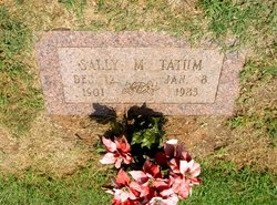 Sally Matilda <I>Passmore</I> Tatum