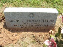 Arthur Thomas Tatum