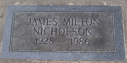 James Milton Nicholson