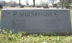 Virginia <I>Myers</I> Argenbright