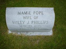 Mamie Cornelia <I>Pope</I> Phillips