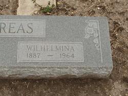 Wilhelmina <I>Frank</I> Andreas