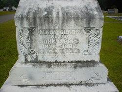 Mary Lucy <I>Clark</I> Pope