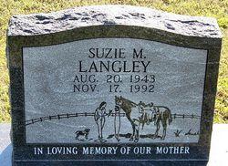 Suzie M Langley