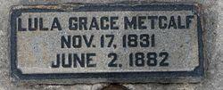 Lulia Grace Metcalf