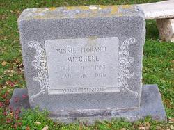 """Minnie Frances """"Aunt Minnie"""" Mitchell"""