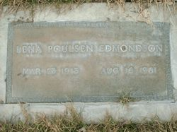 Lena Matilda <I>Poulsen</I> Edmondson