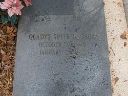 Gladys Speir Barron