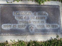 Patrick J Hill