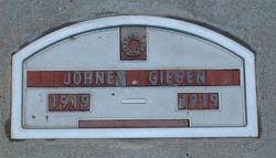 """John """"Johney"""" Giesen"""