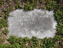 Maude Elma <I>Land</I> Watson
