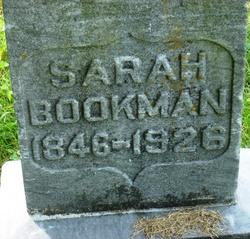 Sarah <I>Jennings</I> Bookman