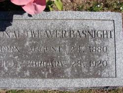 "Donaldson Weaver ""Donald"" Basnight Sr."