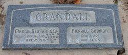 Madge Afton <I>Yancey</I> Crandall