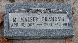 Myron Maeser Crandall