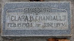 Clara <I>Bringhurst</I> Crandall