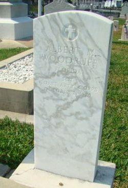 Sgt Albert M Woodruff