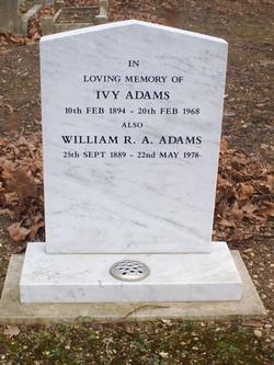 Ivy <I>Roberts</I> Adams