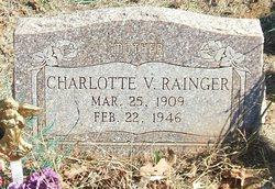 Charlotte V. Rainger
