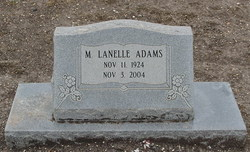 Mattie Lanelle Adams