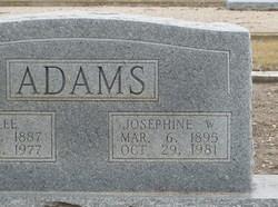 Josephine W. Adams