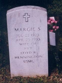 Margie Geraldine <I>Seely</I> Hennington