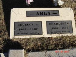 Rebecca Adaline <I>Lewis</I> Abla